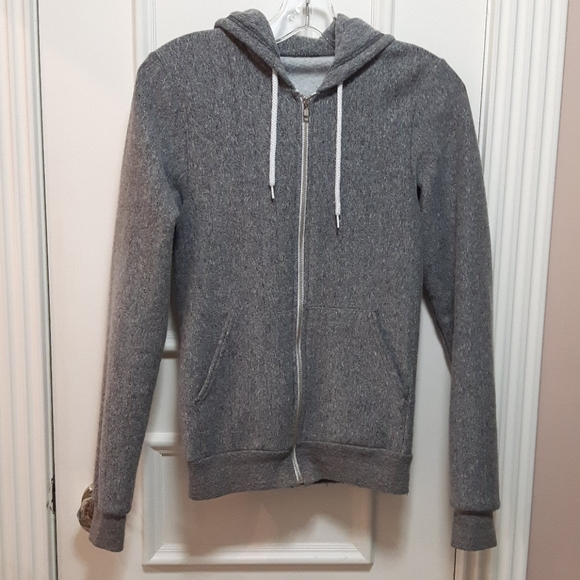 American apparel Gray salt and pepper sweater